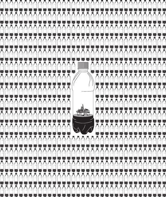 Plastic Bottle Oil Consumption Visualization