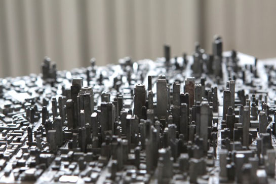 Hong Seon Jang Type City Typography Landscape
