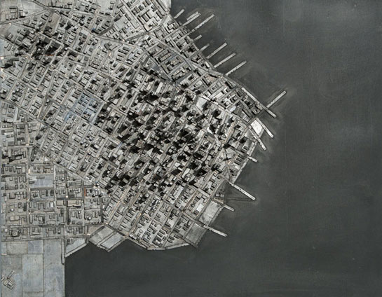 Hong Seon Jang's 'Type City' Typography Structures